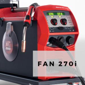 FAN FRONIUS 270i Aluminum Welder   Robaina Industries USA