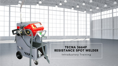 Robaina Industries Training - TECNA 3664P Spot Welder